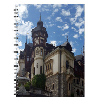 Castle Peles in Sinaia, Romania. Notebook