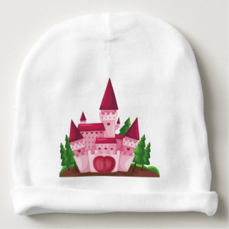 Castle princess baby beanie