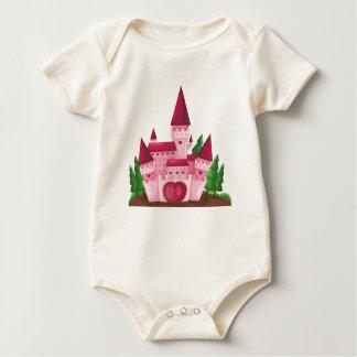 Castle princess baby bodysuit