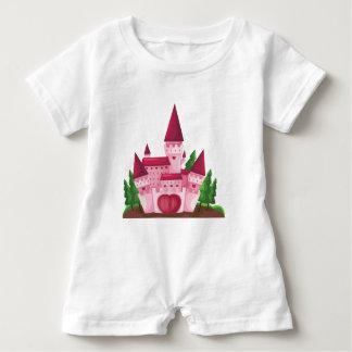 Castle princess baby romper