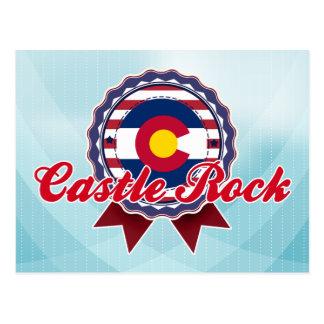 Castle Rock, CO Postcard