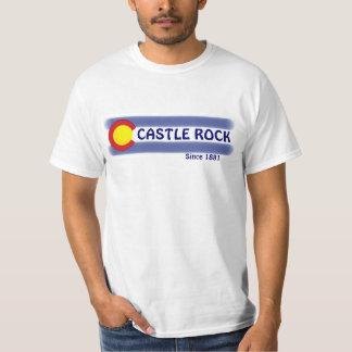 Castle Rock Colorado local flag value tee