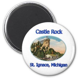 Castle Rock Roadside Attraction 2 Inch Round Magnet