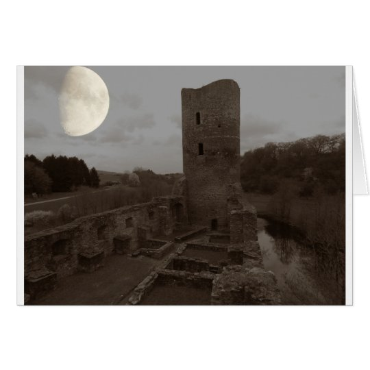 castle ruin card