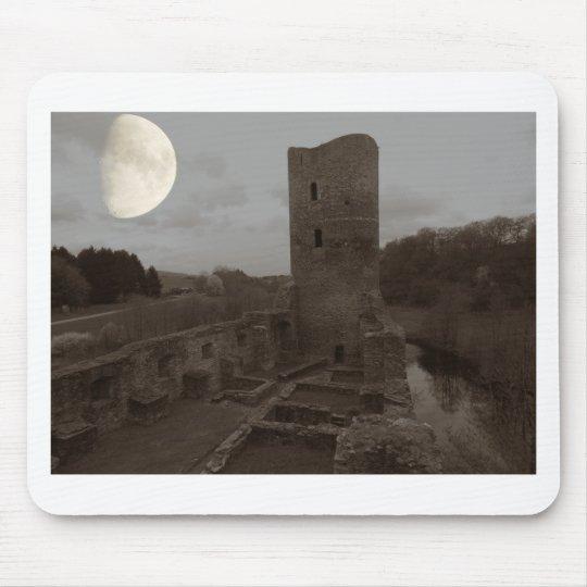 castle ruin mouse pad