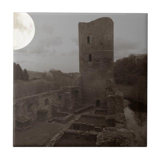 castle ruin tile