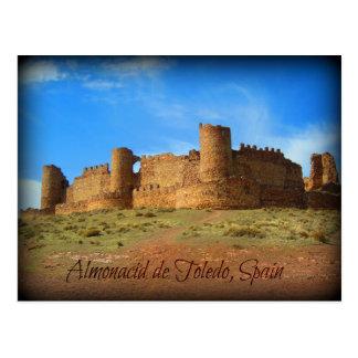 Castle ruins of Muslim origin Postcard