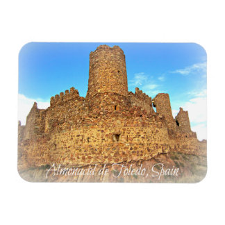 Castle Ruins of Muslim origins in Spain Magnet