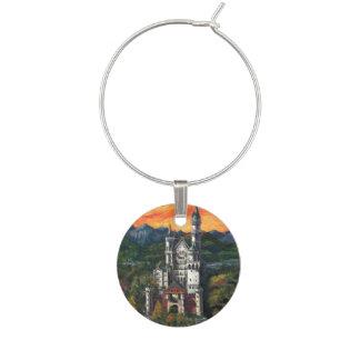 Castle Schloss Neuschwanstein Wine Charm