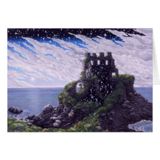 Castle Shadows, by Darlene P Coltrain Card