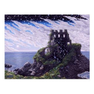 Castle Shadows Postcard