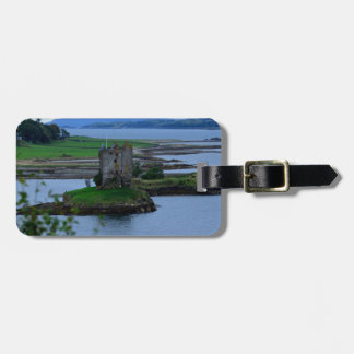 Castle Stalker in Scotland Luggage Tag