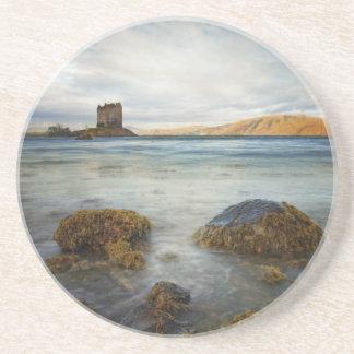 Castle Stalker, Scotland Beverage Coaster