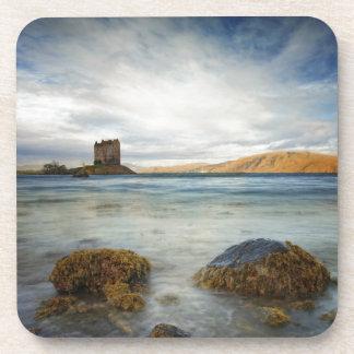 Castle Stalker, Scotland Beverage Coasters