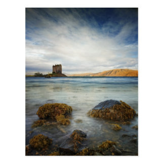 Castle Stalker, Scotland Postcard