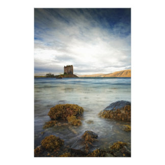 Castle Stalker, Scotland Stationery Paper
