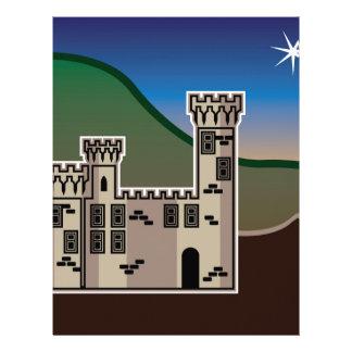 Castle star letterhead design