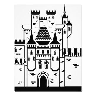 Castle stone personalized letterhead