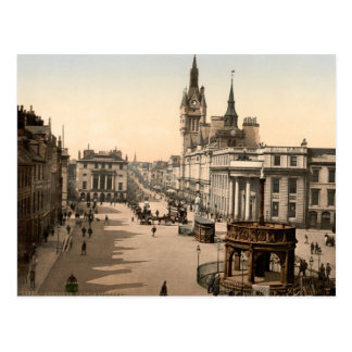 Castle Street, Aberdeen, Scotland Postcard