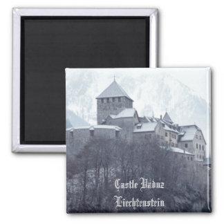 Castle Vaduz Liechtenstein Magnet