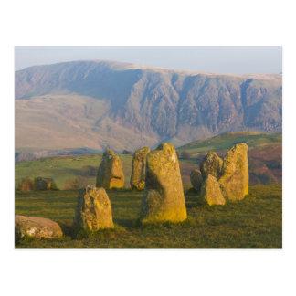Castlerigg Stone Circle, Lake District, Cumbria, Postcard