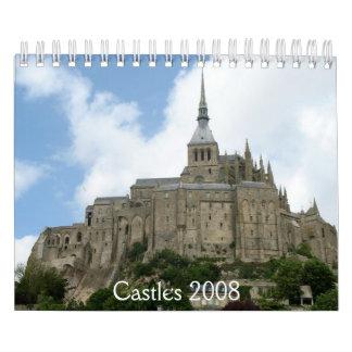 Castles 2008 calendar