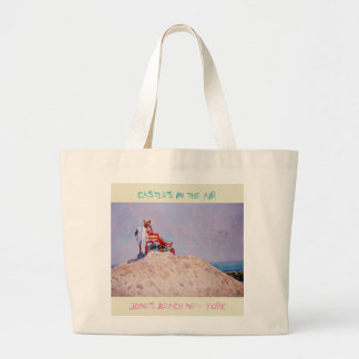 Castles In The Air Large Tote Bag