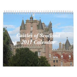 Castles of Scotland 2011Calendar Wall Calendars