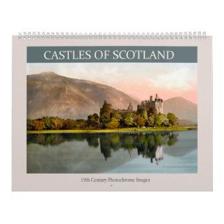 Castles of Scotland 2018 Calendars