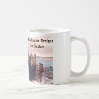 Castles Sinclair-Girnigoe – Clan Sinclair Coffee Mug