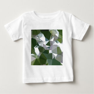 Castleton Green Abstract Low Polygon Background Baby T-Shirt