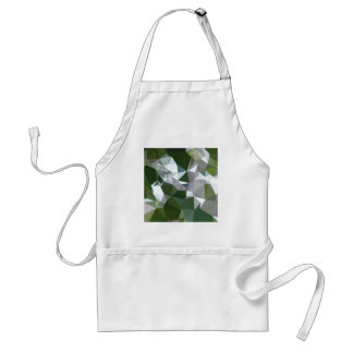Castleton Green Abstract Low Polygon Background Standard Apron