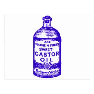 Castor Oil! Yum! Postcard