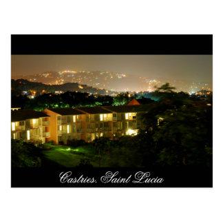 Castries. Saint Lucia Postcard