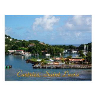 Castries, Saint Lucia Postcard
