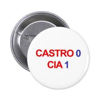 Castro 0 CIA 1 2 Inch Round Button