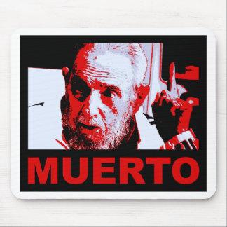 Castro muerto (rojo) mouse pad