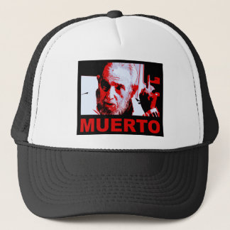 Castro muerto (rojo) trucker hat
