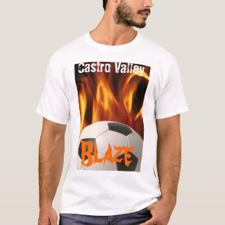 Castro Valley Blaze T-Shirt