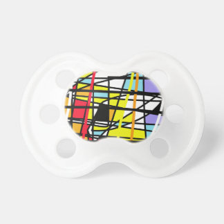 Casual abstraction baby pacifier