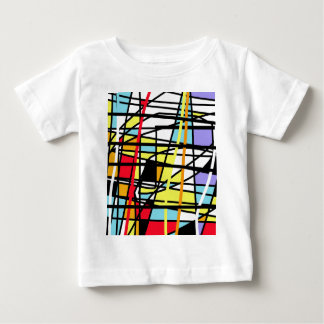 Casual abstraction baby T-Shirt