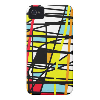 Casual abstraction iPhone 4 Case-Mate case