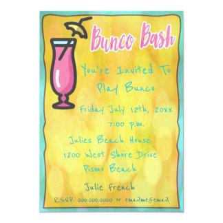 Casual Bunco Bash Invitation