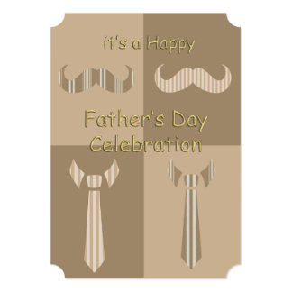 Casual Celebration Father's Day Party Invitations