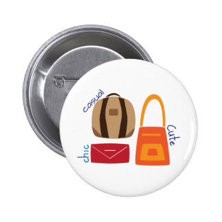 Casual Chic Cute 2 Inch Round Button