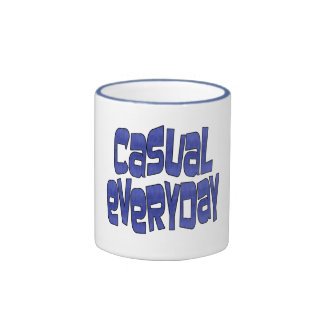 casual everyday mug