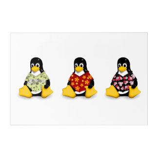 Casual Penguins (3) Wall Art