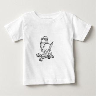 Casual reader baby T-Shirt