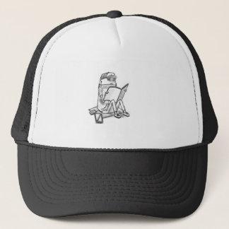 Casual reader trucker hat