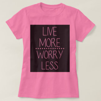 Casual T-Shirt With Quote